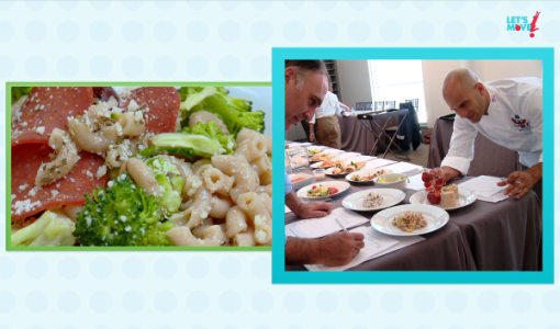Judges test recipes for the Healthy Lunchtime Challenge