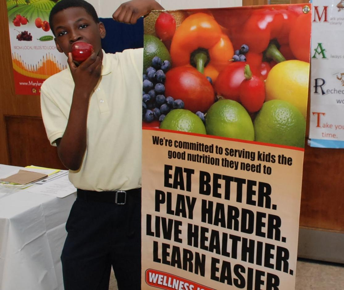 Prince George's County Schools in Maryland Enjoy Meals, Get