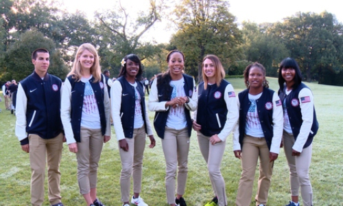 Team USA Track & Field at the White House