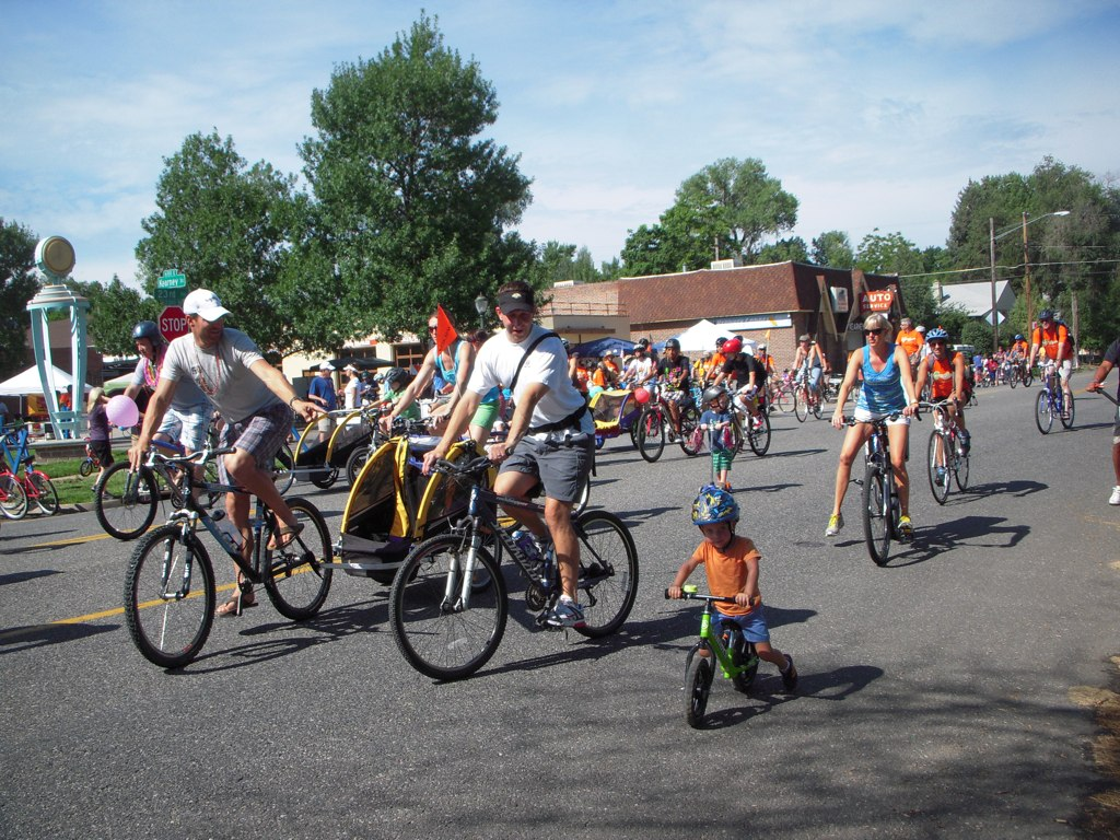 Approximately 7,500 people turned out for Viva Streets in Denver, Colorado
