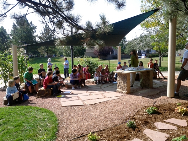 Outdoor Classroom Design Ideas : An outdoor learning center for kids let s move