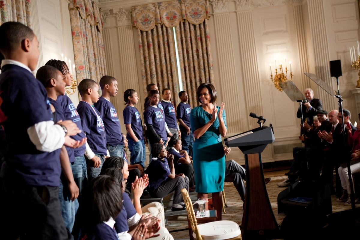 3433202ae641 In Review  Top 10 FLOTUS Let s Move! Moments