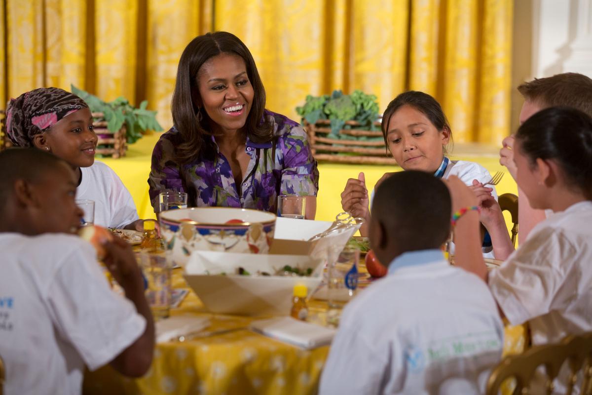 Michelle Obama Broccoli
