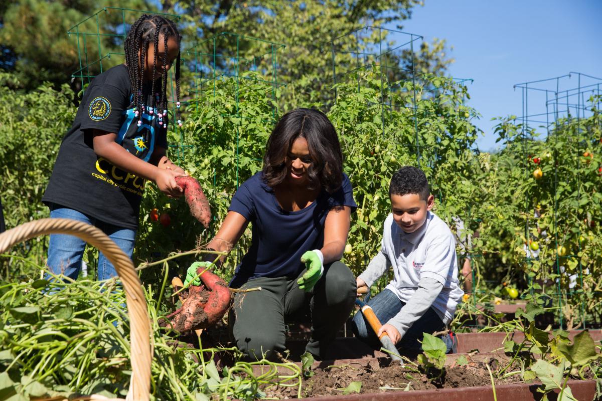 White House Kitchen Garden Explore The White House Kitchen Garden Through A Virtual Tour