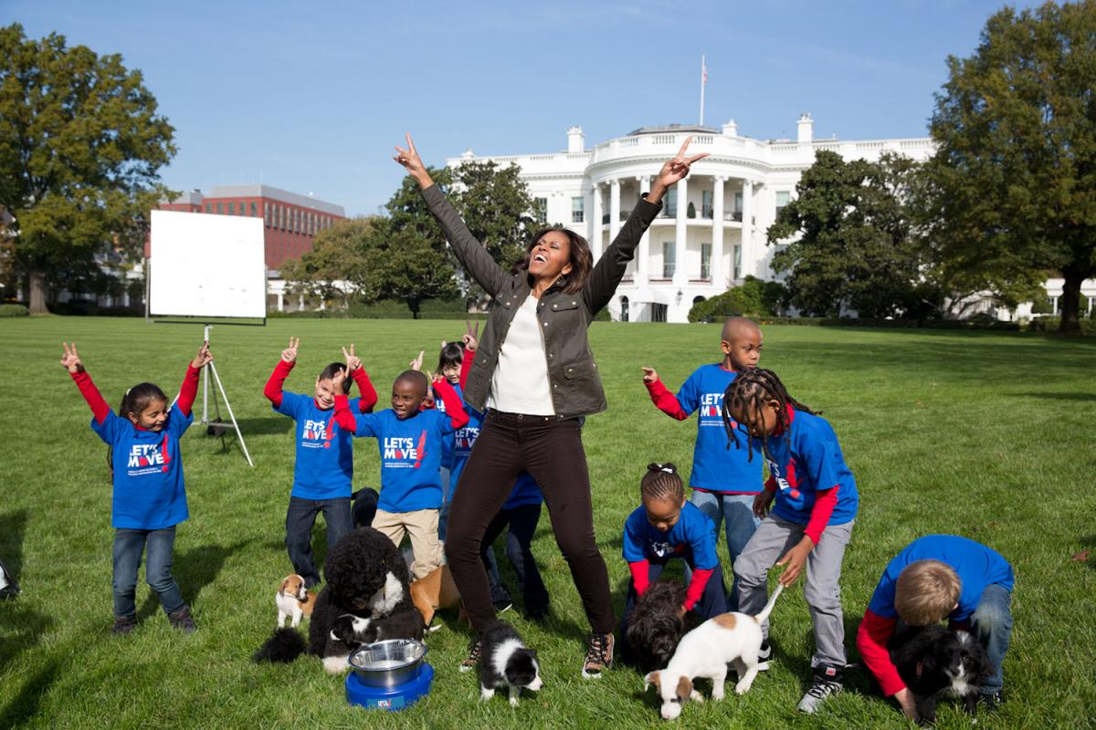 Touchdown Bo And Sunny Show Puppies How To Score Big At The White