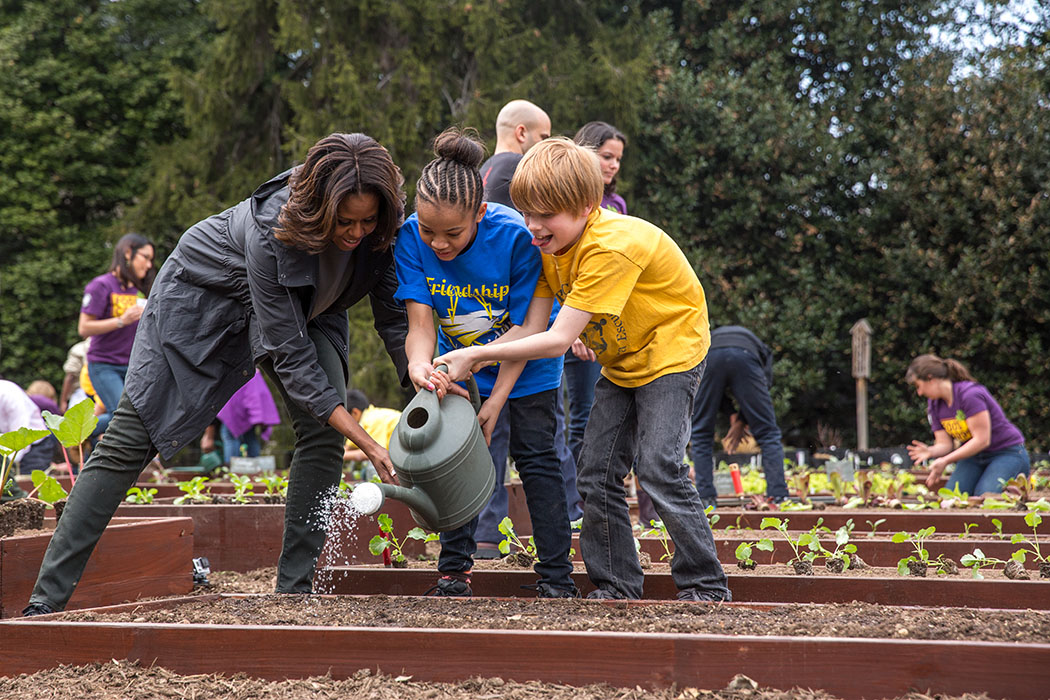 Spring Has Sprung: The Sixth Annual White House Garden Planting