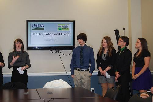 The Big Pitch: 4-H Students Share Their Plans for Let's Move!