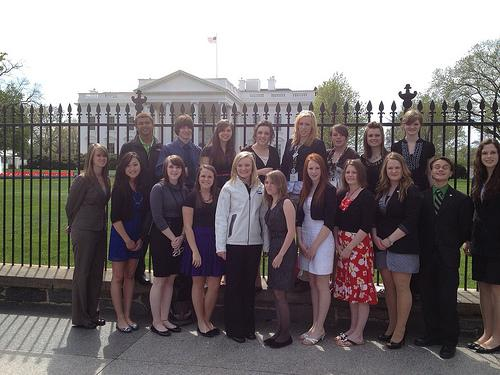 4-H Students Come to the White House