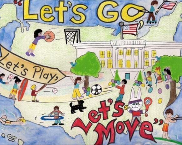 White House Easter Egg Roll 2012 Poster