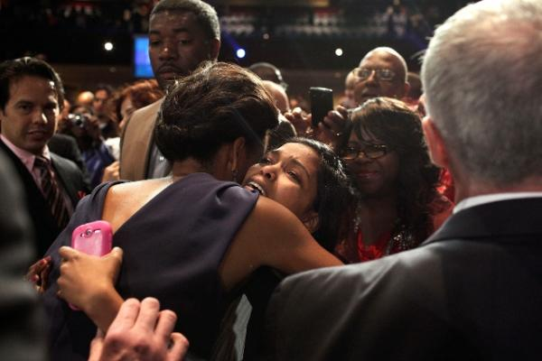 "FLOTUS Greets Supporters from the ""Faith and Community Groups Leading the Way"" Event"