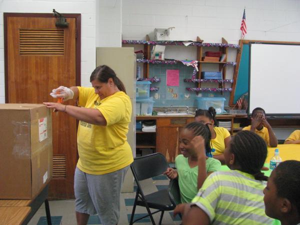 Stetser Elementary Opening Mystery Box