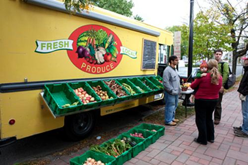 Greensgrow Farms mobile food delivery system