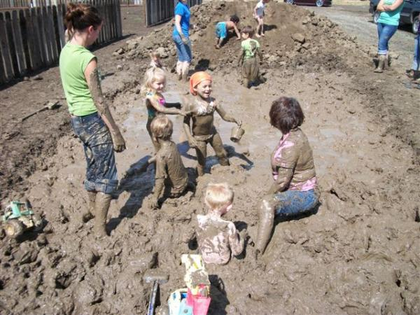 International Mud Day at Hand-in-Hand Learning Center