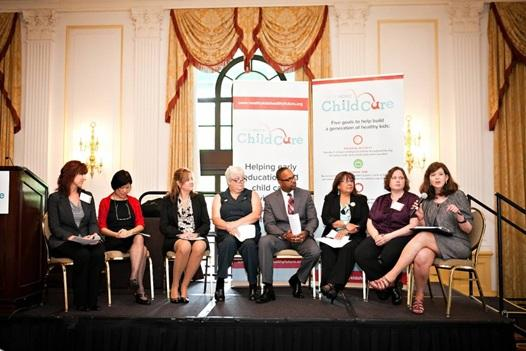 Honorees participate in a panel discussion